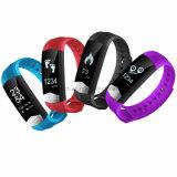 Pulseira impermeável Smart bracelete de silicone com um Monitor saudáveis01