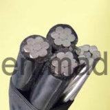 Изолированный XLPE 4*35мм2 4*50мм2 алюминиевого кабеля ABC