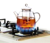 Чайник большого тома сопротивления жары стеклянный для трактира