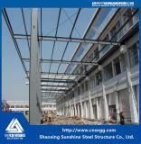 中国からのプレハブの軽い鉄骨構造の倉庫
