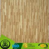 Бумага печатание деревянного зерна декоративная с привлекательной картиной