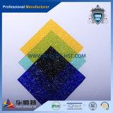 In reliëf gemaakte Diamant Van uitstekende kwaliteit van PC Bayer van 100% de Maagdelijke Materiële Transparante Vast lichaam