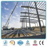 Fábrica de acero prefabricada del marco de acero de la luz de los edificios del metal