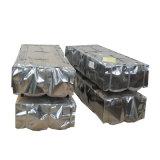 Jauge de SGCC 24 Feuille de toiture en acier ondulé galvanisé