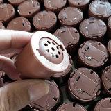 Пластиковый коричневого цвета нажмите кнопку с 40 голоса