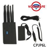 Neuer Handhemmer 6bands bis zu 20m für 2g 3G 4G Mobiltelefon/WiFi/GPS, justierbarer CDMA/GSM Dcs/PCS Signal-Blocker