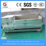Machine à laver de pommes de terre et le pelage du séparateur de pommes de terre de la machine électrique