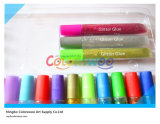 24*10.5ml Round Nail Glitter Glue voor Students en Kids