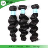Превосходный человеческие волосы оптовой продажи качества бразильской волнистой выровнянные надкожицей