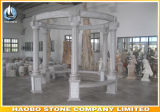 Granite Outdoor Gazebo with Carving