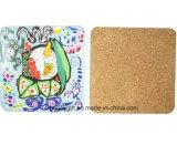 Coaster alta calidad del corcho Papel para regalos publicitarios