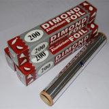Крен алюминиевой фольги домочадца упаковки сервиса связанного с питанием с резцом металла