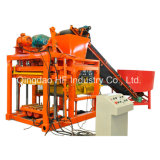 Preços moldando da máquina do bloco Qt4-25 na máquina do tijolo do bloqueio de Nigéria