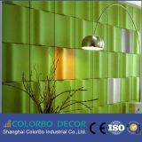 Cinema Fireproof Proteção contra ruído parede Pet 3D painel de parede interior