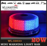 Estroboscópio branco vermelho mini Lightbars para carros de bombeiros