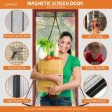 赤ん坊の蚊帳のための磁気ドアの蚊帳の置換