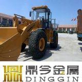중국 공장 바퀴 로더 타이어 보호 눈 사슬