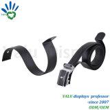 Revêtement poudré noir robuste support de ceinture en cuir pour l'exposition