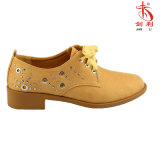 2018 Classic England Style with Rivets Casual Women Shoes (OX59)