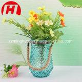 Vase de large quotidien en verre de bouche