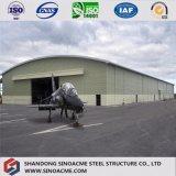 La certificación CE Prefabricados de estructura de acero de calidad Hangar de helicópteros