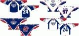 Hokey di ghiaccio domestico personalizzato della strada degli Americani 2008-2010 occidentale della Tri-Città della Lega di Hockey dei capretti delle donne degli uomini Jersey