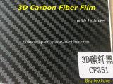 pellicola del vinile della fibra del carbonio 3D