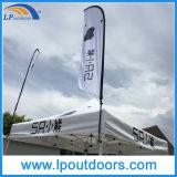 3X3mの屋外広告の半分の壁のおおいによっては昇進のためのテントが現れる