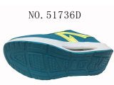 Numéro 51736 trois chaussures de santé de chaussures occasionnelles de Platform Shoes de couleurs de Madame