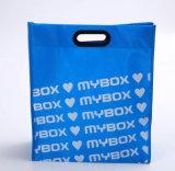 Выдвиженческий Non сплетенный мешок Tote рециркулирует хозяйственную сумку (TP-SP518)