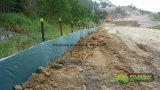 工場直接販売法の高品質のワイヤーによって支持される沈泥の塀