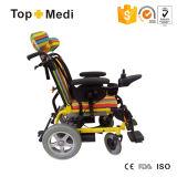 Sillón de ruedas eléctrico de descanso de la parálisis cerebral del aluminio de los surtidores de la terapia de la rehabilitación para los niños