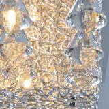 Moderno Hotel Decirative G4 cuadrado aluminio Lámpara de techo