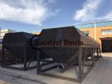 40、50、60、80のそして100トンの標準容量でセメント、PFAまたは石灰を保存するために適した低レベルの水平のサイロ