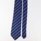 Mode classique cravates rayé
