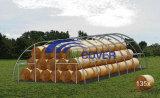 Tissu tente ronde, bâtiment, structure en acier (JIT-3040)