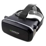3D Virtual Reality Vr Movie Game Glasses com controlador