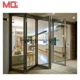 Дверь складчатости Китая оптовая алюминиевая внешняя стеклянная для двери сбывания Bifold