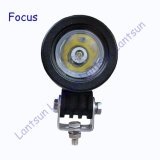 10W Round LED Work Light for Jeep Offroad SUV