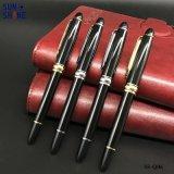 주문 로고 금속 펜은 선전용 선물 롤러 펜을 개인화했다