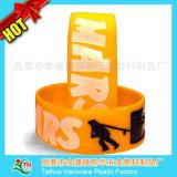 Deportes de pulsera de silicona, Goma elástica, pulsera para la promoción de eventos