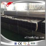 Quadrato nero della costruzione e formato e prezzo d'acciaio rettangolari del tubo