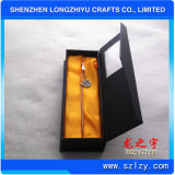 Bookmarks métalliques avec boîte cadeau et souvenir logo personnalisé en souvenir en argent