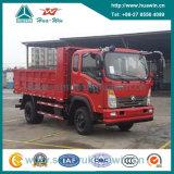 Cdw 757b2g 4X2 130HP 각자 Dumping Tipper Truck