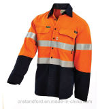 Workwear безопасности отражательной прокладки цветов качества высокий видимый защитный