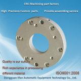 Mouture de haute précision partie d'usinage CNC aluminium anodisé avec Sandblast