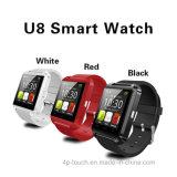 アンドロイドおよびIos (U8)が付いているBluetoothの熱い販売のスマートな腕時計
