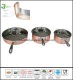 3ply Copper Sauce Pan Cookware