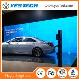 Peso ligero Hot-Selling pantalla LED de alquiler de interiores