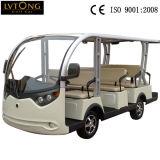 Электрический 11-местный пассажирских автомобилей (Lt-S8+3)